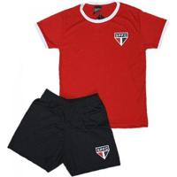 Kit Juvenil São Paulo Tricolor - Unissex