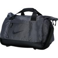 Mala Nike Vapor Speed Duffel M - 63 Litros - Cinza Escuro
