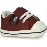 Sapato Infantil Klin Vinho
