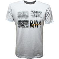 Camisa Liga Retrô Vasco Dinamite Chapéu Masculina - Masculino-Branco