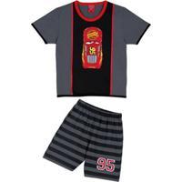Pijama Curto Kids Carros Lupo (23117-001)