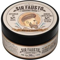 Pomada Forte Para Cabelo Sir Fausto - Old Wax 200G - Masculino-Incolor