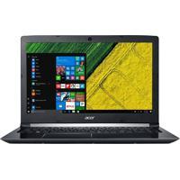 "Notebook Acer A515-51-74Za - Preto - Intel Core I7-7500U - Ram 8Gb - Hd 2Tb - Tela 15.6"" - Linux"