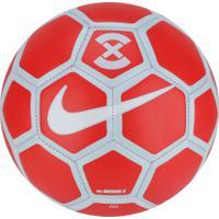 4431ff0eec Bola De Futsal Nike Footballx Menor - Vermelho Cinza Cla