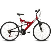 Bicicleta Verden Radikale - Aro 26 - 18 Marchas Vermelho