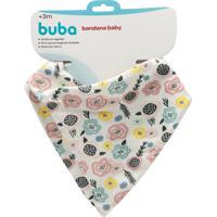 Bandana Baby Flores - 4 Peças - Tricae