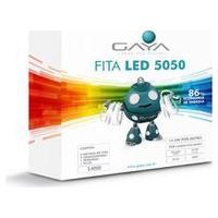 Kit Fita Led 14,4W 220V Azul 5M 5050 Gaya