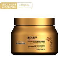 Máscara De Tratamento L'Oréal Professionnel Nutrifier Glycerol 500G - Unissex-Incolor