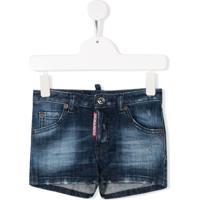 Dsquared2 Kids Short Jeans - Azul
