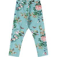 Legging Floral- Azul Claro & Rosalilica Ripilica E Tigor T. Tigre