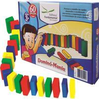 Dominó Educativo - Mania - Caixa C 60 Pecas - Fundamental