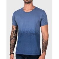 Camiseta Degradê Azul Estonado 102138