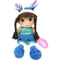 Boneca De Pano Presente Para Bebê Criança De 1+ Ano - Loli