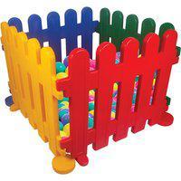 Cercadinho Infantil Alpha Brinquedos Com 200 Bolinhas Colorido