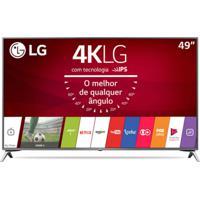 "Smart Tv Lg Ultra Hd 49"" Painel Ips 4K 49Uj6525 Com Webos 3.5, Hdr E"