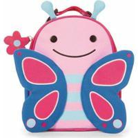 Lancheira Infantil Skip Hop Zoo Borboleta Feminina - Feminino-Rosa+Azul