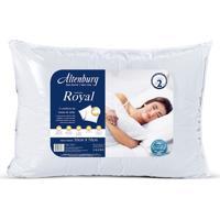 Travesseiro Altenburg Royal 50Cm X 70Cm Branco
