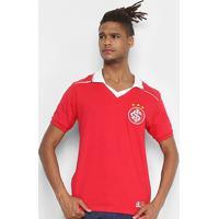Camiseta Internacional Retrô Mania 1992 Masculina - Masculino-Vermelho