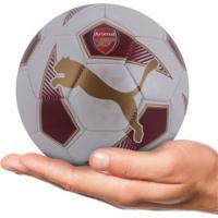 Minibola De Futebol De Campo Arsenal Puma Fan Ball - Infantil -  Branco Vermelho 2bbd252852