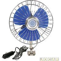 Ventilador - Western - Adaptável Ao Acendedor De Cigarros - 12V/12W - 20Cm Diametro - Cada (Unidade) - V-80