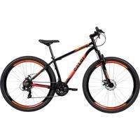 Bicicleta Mtb Caloi Vulcan Aro 29 Preto