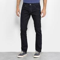 Calça Jeans Slim Preston Masculina - Masculino-Azul