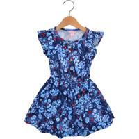 Vestido Lilica Ripilica Menina Azul