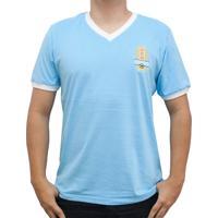 Camisa Retrô Mania Uruguai 1950 Masculina - Masculino