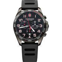 Relógio Victorinox Swiss Army Masculino Borracha Preta - 241889