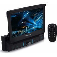 Dvd Player Pósitron Sp6320Bt Com Tela Retrátil 1 Din
