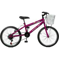 Bicicleta Master Bike Aro 20 Serena Plus 7 Marchas V-Brake - Feminino