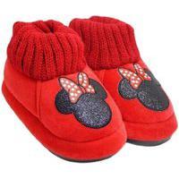 Pantufa Higloo Infantil Disney Vermelho