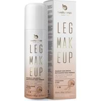 Leg Makeup Claro Best Bronze - Unissex-Bege