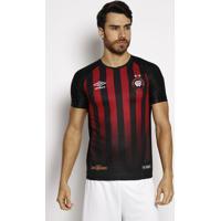 Camisa Capâ® Oficial 2017- Preta & Vermelha- Umbroumbro