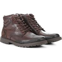 25ea1f178 Netshoes; Bota Coturno Couro West Coast Winston Masculina - Masculino