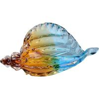 Concha Deep Sea- Azul & Âmbar- 13,5X29X14Cm- Fulfull Fit