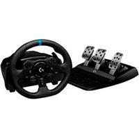 Volante Logitech G923 Racing Wheel Para Ps5, Ps4 E Pc Com Force Feedback Trueforce Preto - 941000148