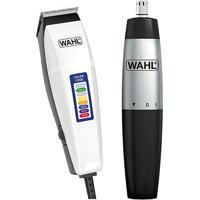 Kit Wahl Máquina De Corte Color Code 110V + Mini Aparador De Pelos Nasal Trimmer À Pilha - Unissex-Incolor