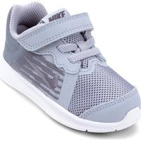Tênis Infantil Nike Downshifter 8 Tdv Masculino - Masculino-Cinza+Preto
