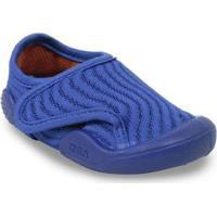 Tênis Infantil Klin Linha New Comfort Masculino - Masculino-Azul