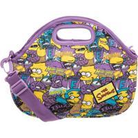 Lancheira Simpsons Squishee - Feminino-Lilás