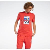 Camiseta E Regata Reebok Cl Intl Sport Tee Masculina - Masculino-Vermelho