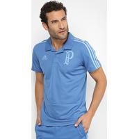 Camisa Polo Palmeiras Adidas Viagem Masculina - Masculino