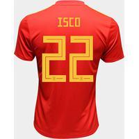 Camisa Seleção Espanha Away 2018 N° 22 Isco - Torcedor Adidas Masculina - Masculino