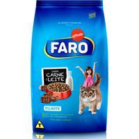 Ração Faro Para Gatos Filhotes Ração Faro Para Gatos Filhotes Sabor Carne E Leite 3Kg