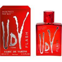 Perfume Udv Flash Masculino Ulric De Varens Edt 60Ml - Masculino