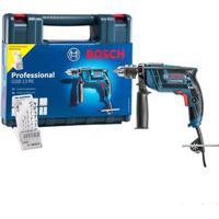 Furadeira De Impacto 220V Gsb 13Re Com Kit De 5 Brocas Bosch