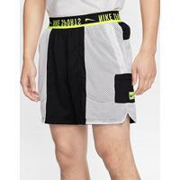 Short Dupla Face Nike Px Masculino - Masculino-Preto+Verde