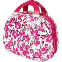 Frasqueira Sestini Girls Vr 2T Floral Rosa