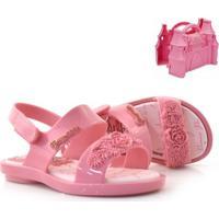 Sandália Infantil Disney Princesas + Castelo